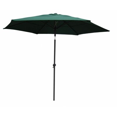 8 St. Kitts Umbrella Stands Market Umbrella Fabric: Forest Green