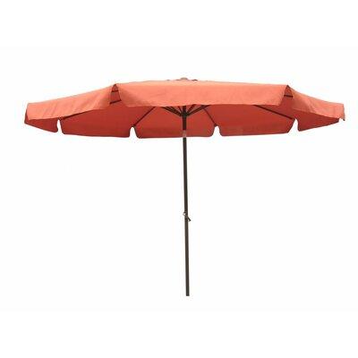 International Caravan 9.8' Sienar Cantilever Market Umbrella (Set of 3) - Fabric: Navy