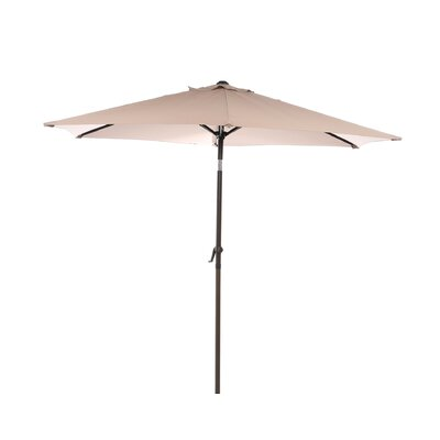 8 St. Kitts Umbrella Stands Market Umbrella Fabric: Khaki