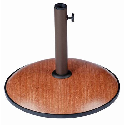 International Caravan Castile Outdoor Free Standing Round Umbrella Base - Finish: Slate Wicker at Sears.com