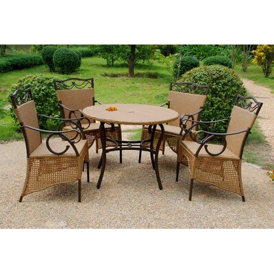 International Caravan Valencia 5 Piece Dining Set at Sears.com