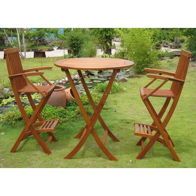 International Caravan Carmona 3 Piece Bistro Set at Sears.com