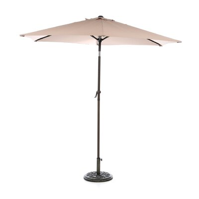 8 St. Kitts Umbrella Stands Market Umbrella Fabric: Khaki