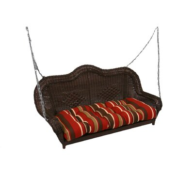 International Caravan Caravan Porch Swing - Finish: Antique Black at Sears.com