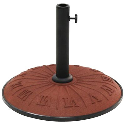 Resin Free-Standing Umbrella Stand Color: Terra Cotta