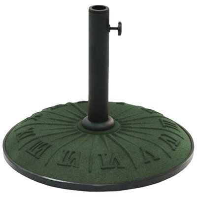 Resin Free-Standing Umbrella Stand Color: Forest Green