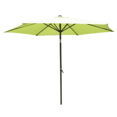 8 St. Kitts Umbrella Stands Market Umbrella Fabric: Lime Green