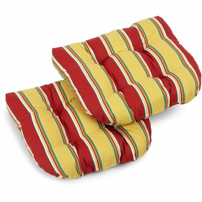Haliwell Outdoor Lounge Chair Cushion Fabric: Haliwell Multi