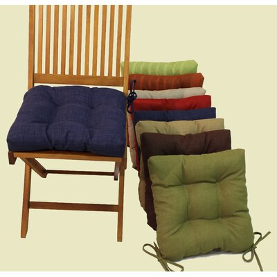 Outdoor Adirondack Chair Cushion Fabric: Annie Chocolate