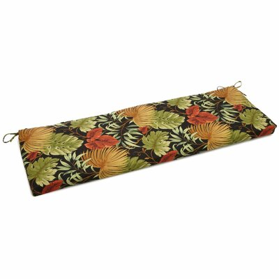 Tropique Outdoor Bench Cushion Size: 3.5 H x 54 W x 19 D