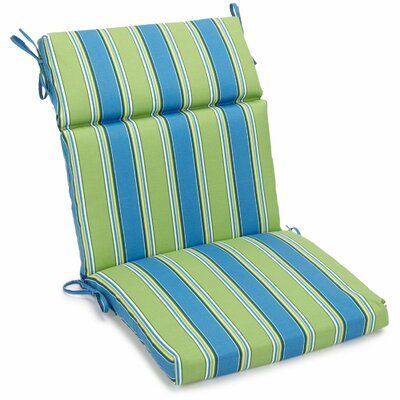 Haliwell Outdoor Adirondack Chair Cushion Size: 5