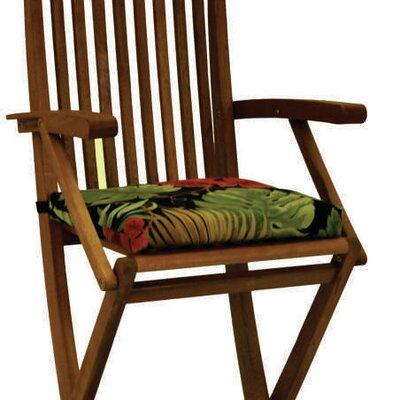 Blazing Needles Bar Height Folding Patio Chair Cushion (Set of 4) - Color: Monserrat Sangria at Sears.com