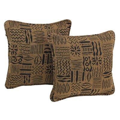 Tapestry Throw Pillow Fabric: Kenya