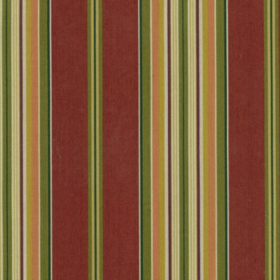 All-Weather UV-Resistant Outdoor Steamer Deck Lounge Cushion Color: Kingsley Stripe Ruby