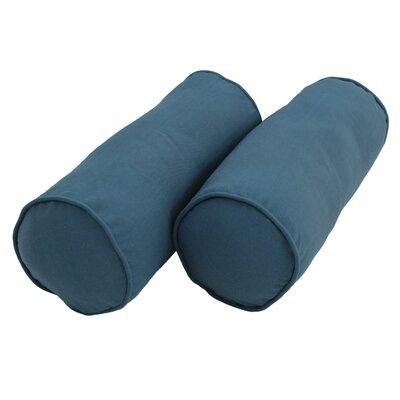 Bolster Pillow Color: Indigo