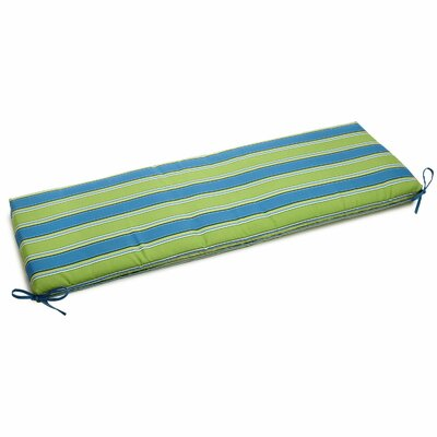 Luxury Outdoor Bench Cushion Fabric: Luxury Azure