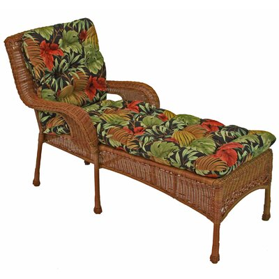 Tropic Outdoor Chaise Lounge Cushion