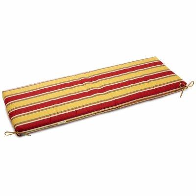 Haliwell Outdoor Bench Cushion Fabric: Haliwell Multi