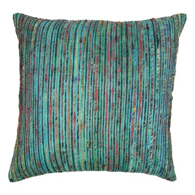 Throw Pillow Color: Teal