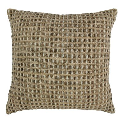 Look Rope Corded Throw Pillow Color: Jute Brown