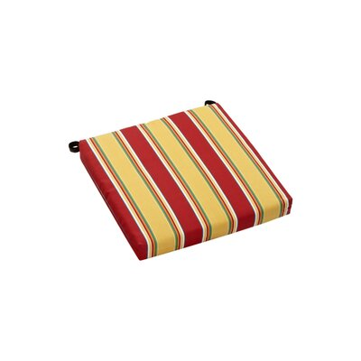 Haliwell Outdoor Adirondack Chair Cushion Fabric: Haliwell Multi