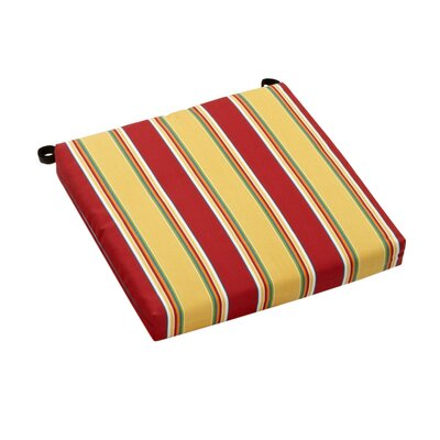 Haliwell Outdoor Adirondack Chair Cushion Fabric: Haliwell Multi