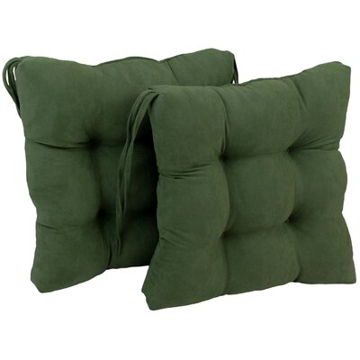 Dining Chair Cushion Color: Hunter Green