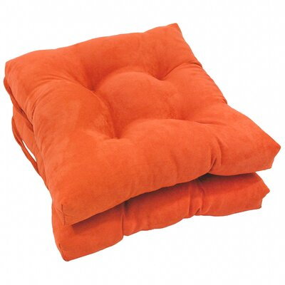 Dining Chair Cushion Color: Tangerine Dream