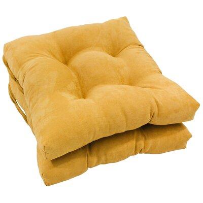 Dining Chair Cushion Color: Lemon