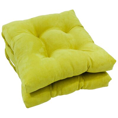 Dining Chair Cushion Color: Mojito Lime