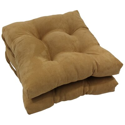 Dining Chair Cushion Color: Camel