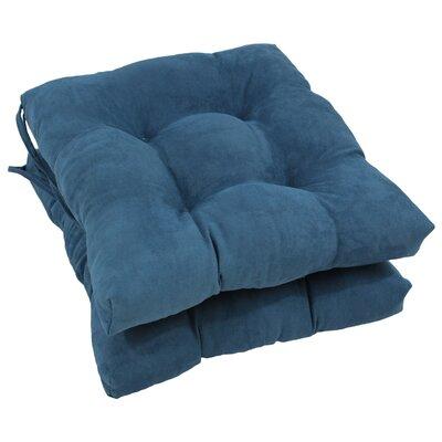 Dining Chair Cushion Color: Indigo
