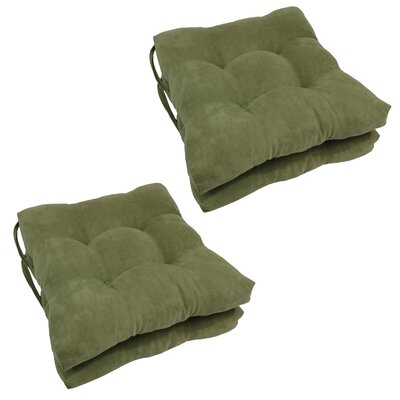 Outdoor Dining Chair Cushion Color: Sage