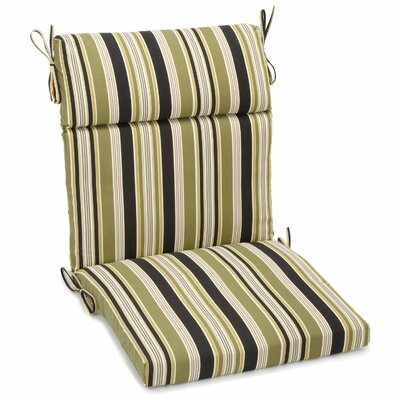 Eastbay Outdoor Adirondack Chair Cushion Size: 3.5 H x 22 W x 45 D