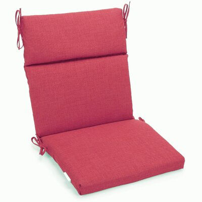 Outdoor 2 Piece Chair Cushion Fabric: Bery Berry