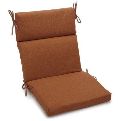 Outdoor 2 Piece Chair Cushion Fabric: Mocha