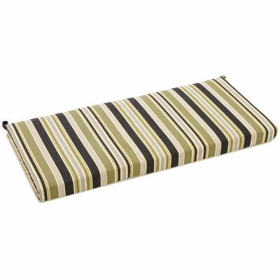Outdoor Bench Cushion Fabric: Eastbay Onyx