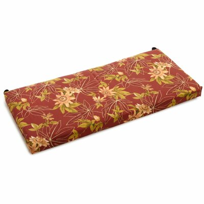 Passion Outdoor Bench Cushion Size: 3.5 H x 51 W x 19 D