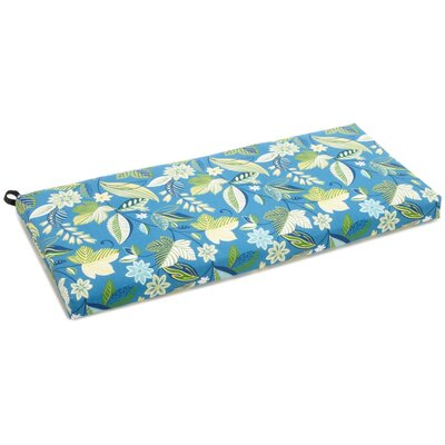 Outdoor Bench Cushion Fabric: Skyworks Caribbean