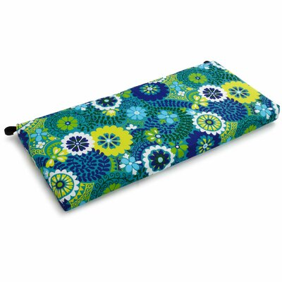 Outdoor Bench Cushion Fabric: Luxury Azure