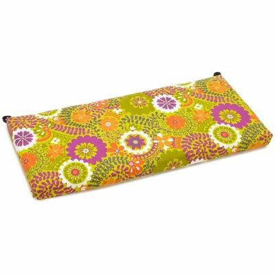 Outdoor Bench Cushion Fabric: Luxury Citron