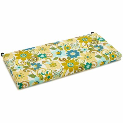 Outdoor Bench Cushion Fabric: Rolling Mead-Veranda Cosmo