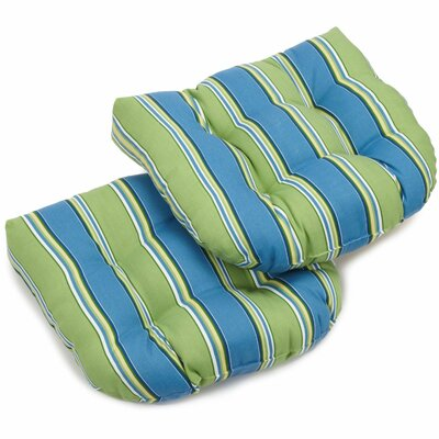 Haliwell Outdoor Lounge Chair Cushion Fabric: Haliwell Caribbean