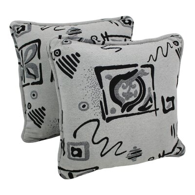 Contemporary Tapestry Throw Pillow Pattern: Zen Dream