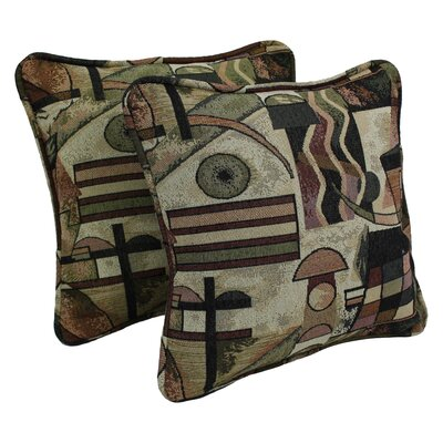 Tapestry Throw Pillow Fabric: Picasso