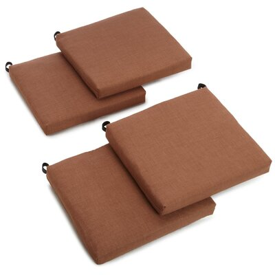 Outdoor Adirondack Chair Cushion Fabric: Mocha