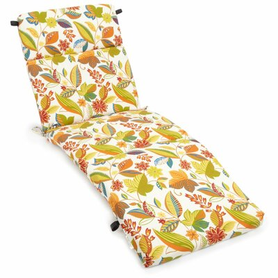 Skyworks Outdoor Chaise Lounge Cushion Fabric: Skyworks