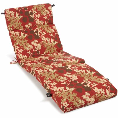Montfleuri Outdoor Chaise Lounge Cushion