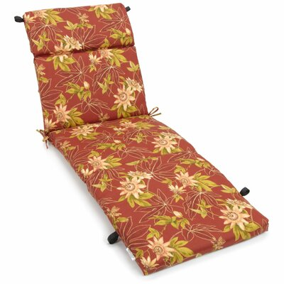 Image of Passion Outdoor Chaise Lounge Cushion