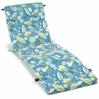 Skyworks Outdoor Chaise Lounge Cushion Fabric: Skyworks Caribbean